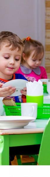 Kindergarten-Essen nicht gesund